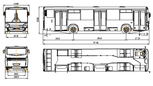 нефаз 5299 технические характеристики автобуса